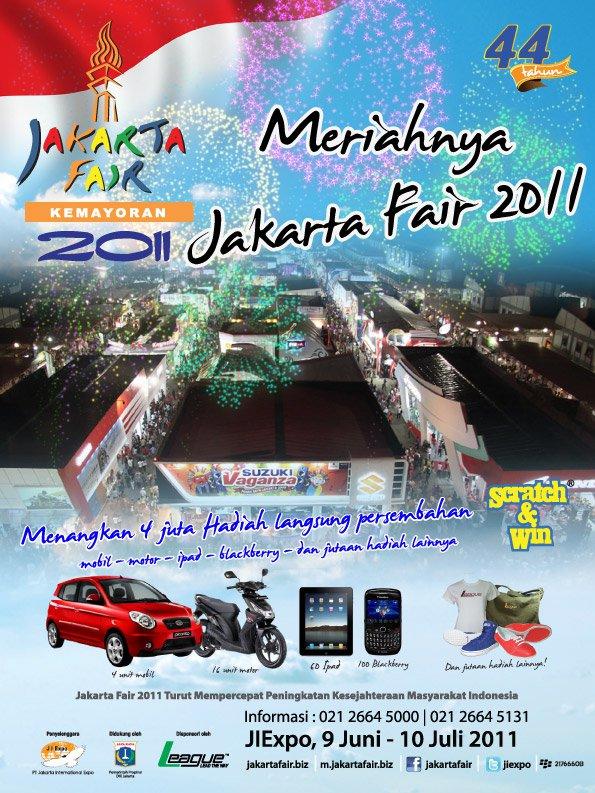 Jakarta Fair 2011 -Pekan raya Jakarta 2011 – PRJ 2011