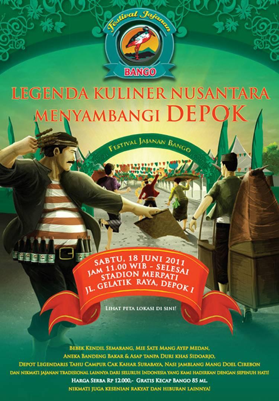 Kisah Legenda Kuliner Nusantara Depok Festival Jajanan