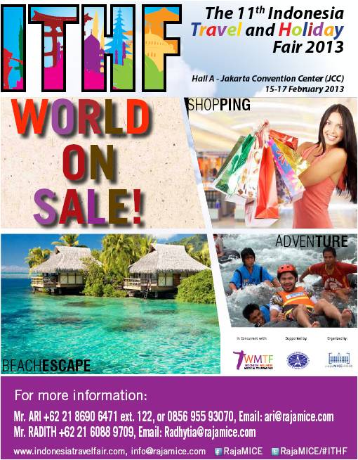 11th Indonesia Travel & Holiday Fair 2013