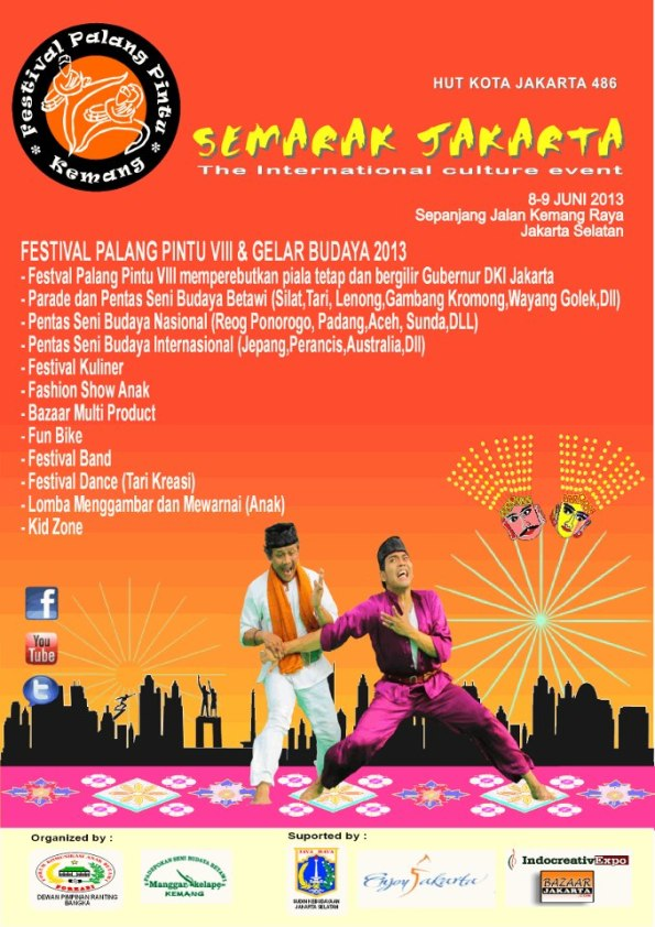 FESTIVAL PALANG PINTU VIII & GELAR BUDAYA 2013