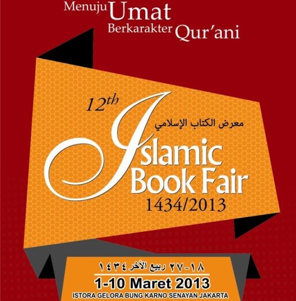12nd Islamic Book Fair (IBF) 2013