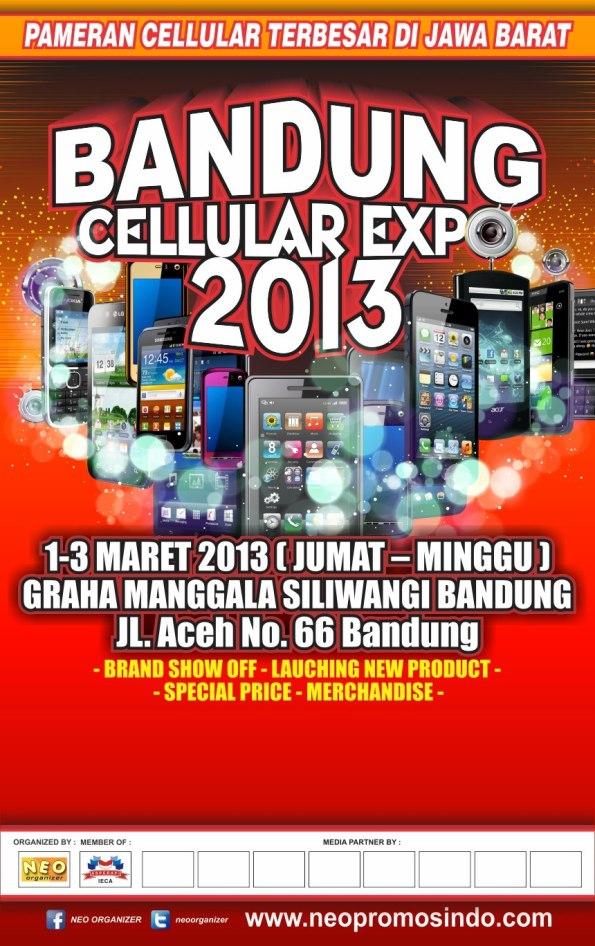 Bandung Cellular Expo 2013