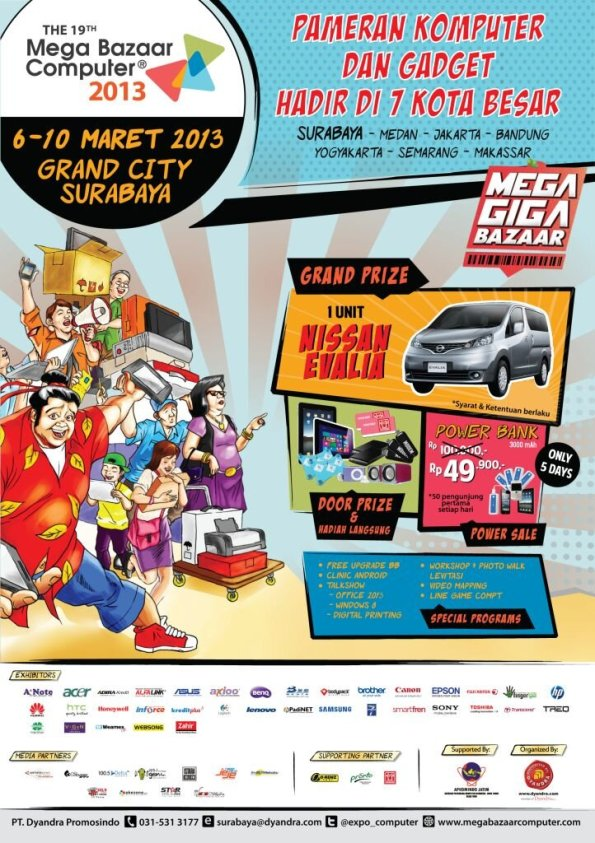 The 19th Mega Bazaar Computer 2013