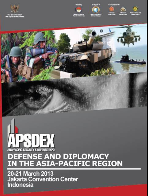 Asia Pacific Security & Defense Expo (APSDEX) 2013