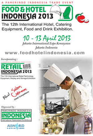FOOD & HOTEL INDONESIA 2013
