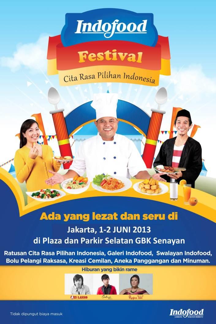 Indofood Festival Cita Rasa Pilihan Indonesia Jakarta 2013