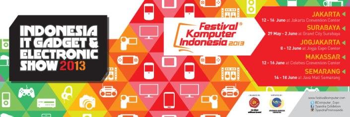 festival komputer indonesia 2013 jakarta