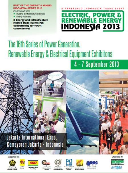 Electric, Power & Renewable Energy Indonesia 2013