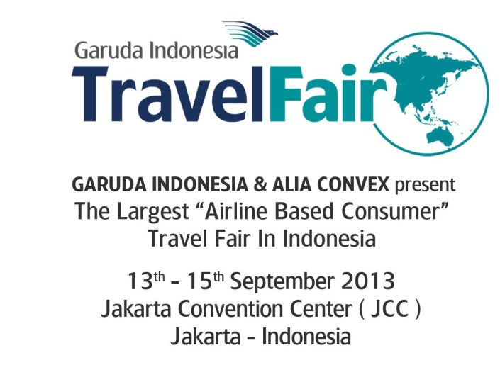 Garuda Travel Fair 2013