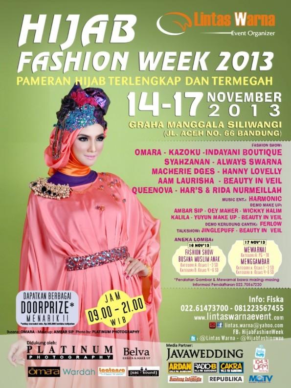 Bandung Hijab Fashion Week 2013