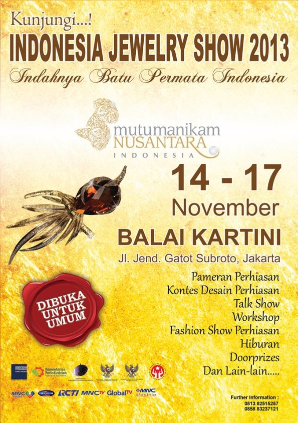 INDONESIA JEWELRY SHOW 2013
