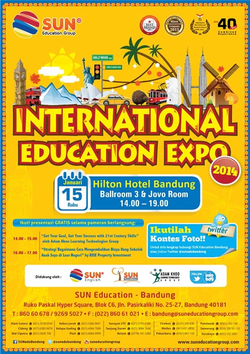International Education Expo 2014 Bandung
