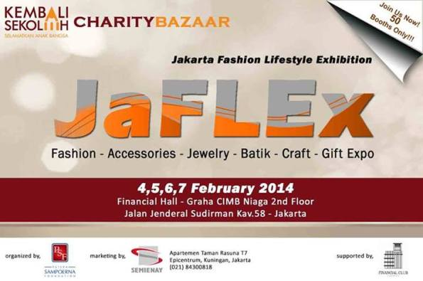 Jakarta Fashion Lifestyle Exhibition 2014