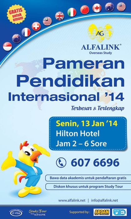 Pameran Pendidikan Internasional 2014 - Bandung