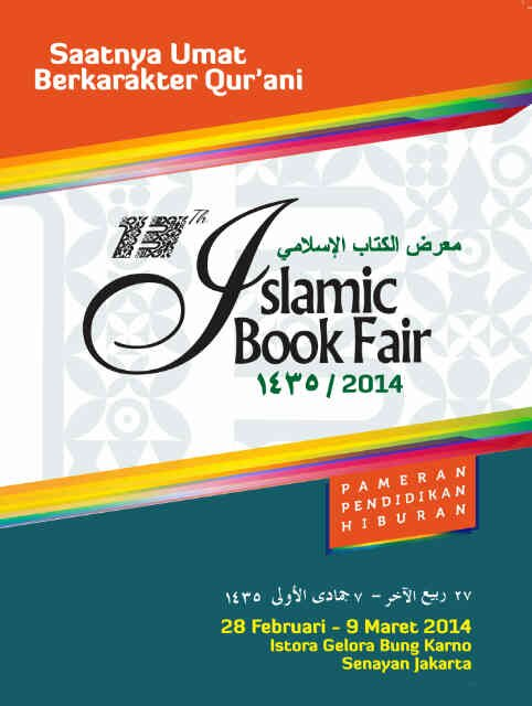 13rd Islamic Book Fair (IBF) 2014
