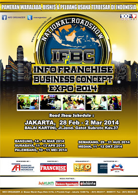 Info Franchise Expo 2014, Exhibition, Workshop and Seminar is designed