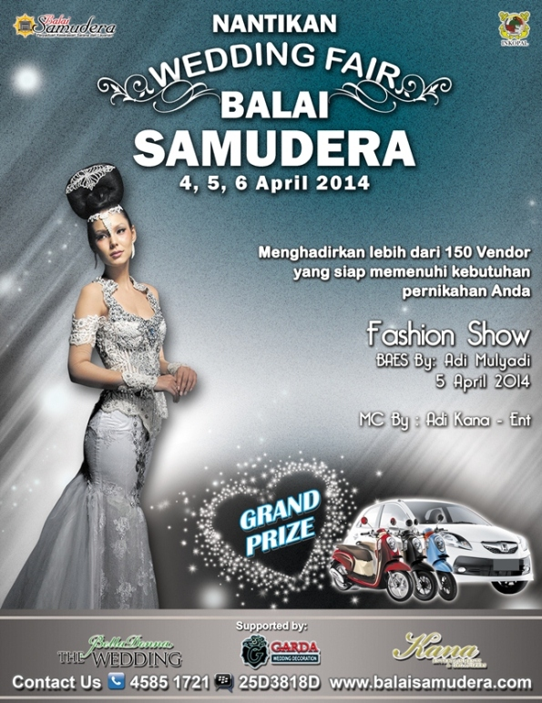 wedding Fair Balai samudera 2014