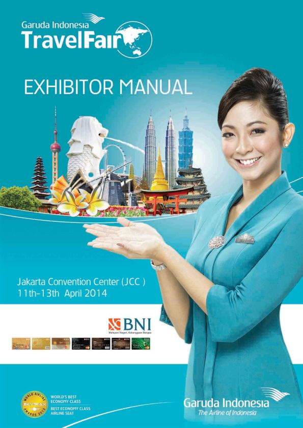 Garuda Indonesia Travel Fair 2014