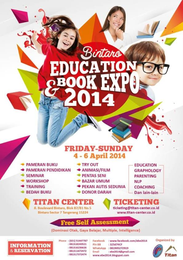 Bintaro Education Book Expo 2014