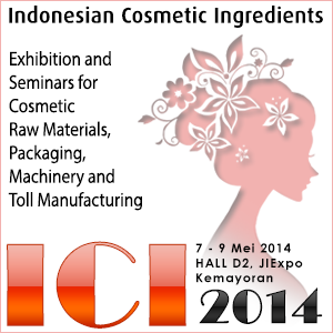 INDONESIA COSMETICS INGREDIENTS 2014
