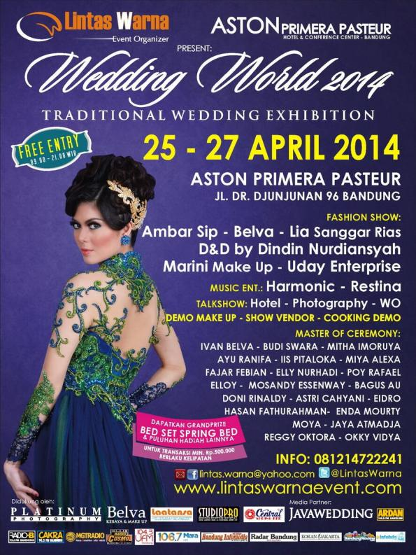 Wedding World @AstonPrimera Pasteur 25-27 April '14