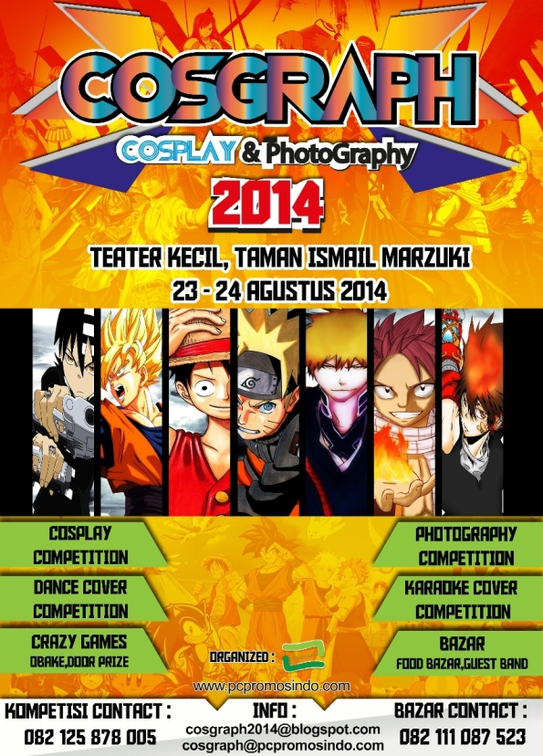 Cosgraph 2014 (Cosplay & Photography)