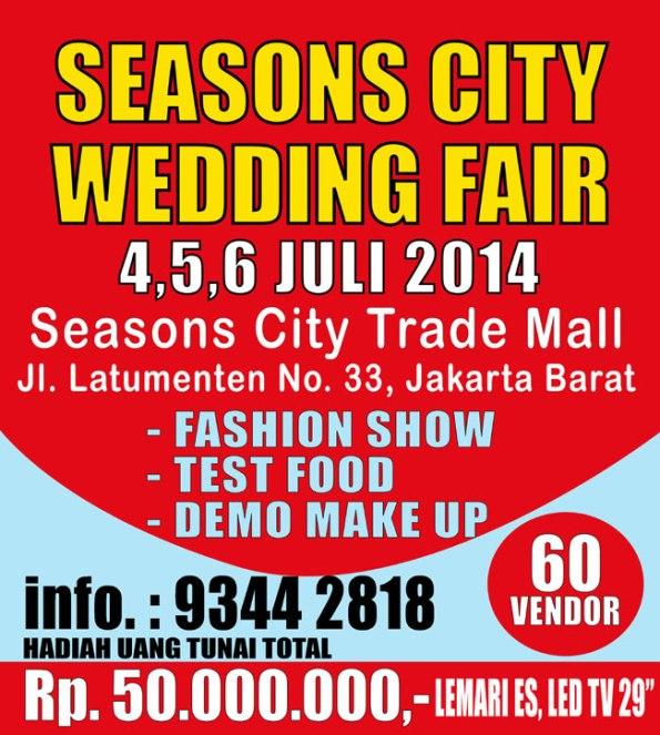 Season City Wedding Fair 2014