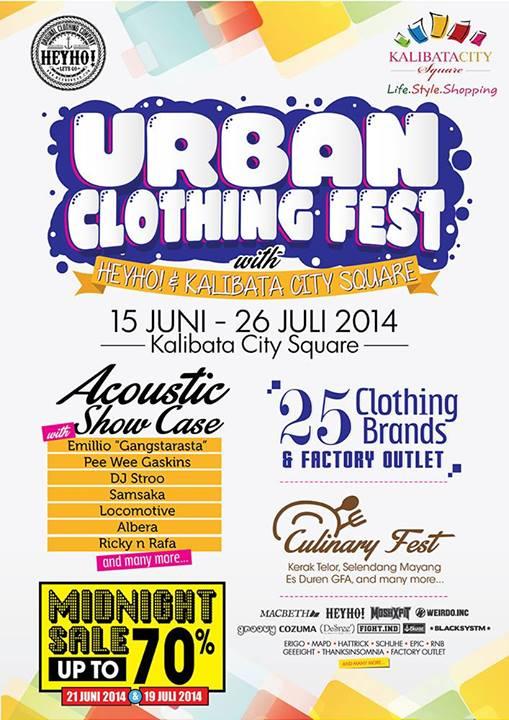 Urban Clothing Fest – Kalibata City Square