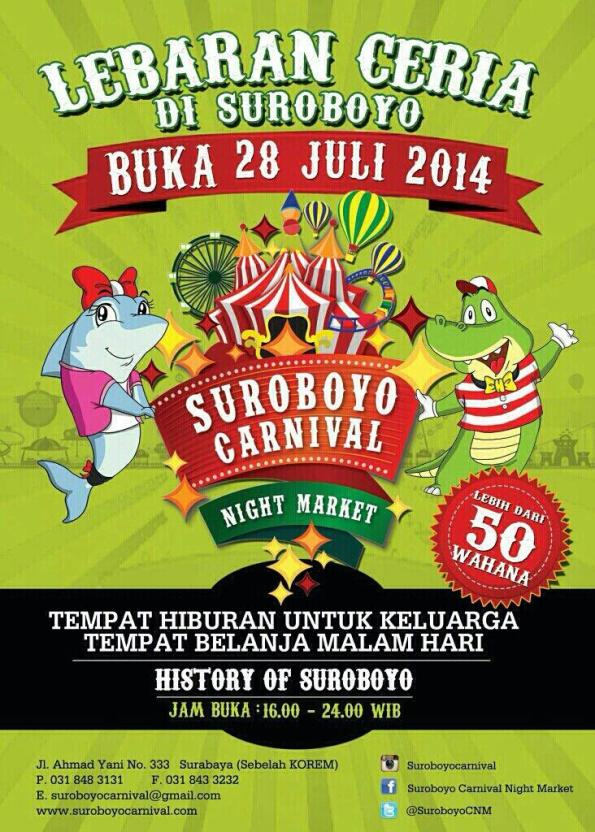 suroboyo carnival night market