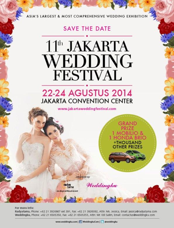 11th Jakarta Wedding Festival 2014