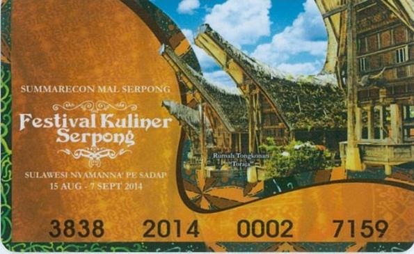 Festival Kuliner Serpong 2014 @ Mal Summarecon Mal Serpong