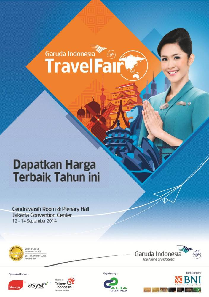Garuda Travel Fair 2014 September 171 Informasi Pameran Event Dan Bazaar Indonesia