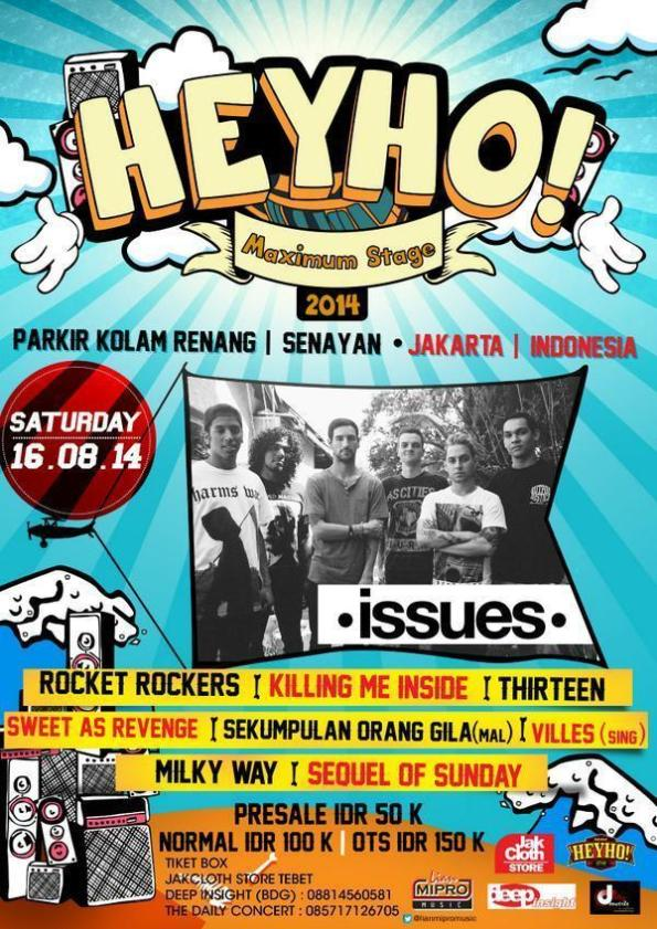 Heyho! Maximum Stage 2014 with Issues
