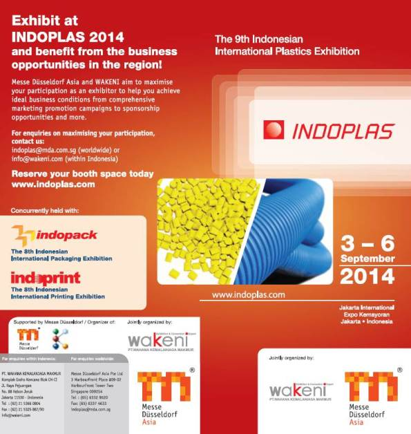 INDOPLAS, INDOPACK and INDOPRINT 2014