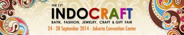 Pameran Indocraft Fair 2014 JCC Jakarta