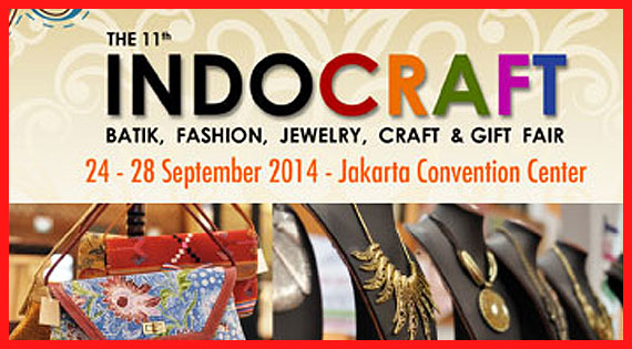 The 11th INDOCRAFT 2014