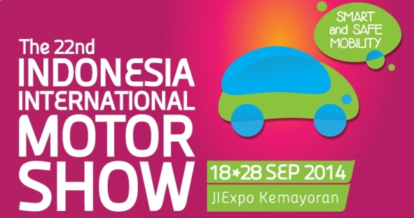 the 22nd Indonesia International Motor Show 2014