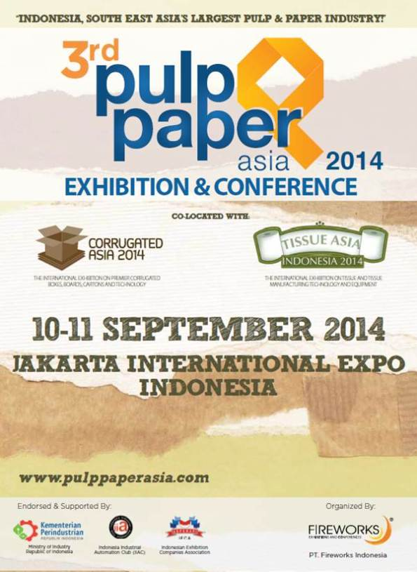 The 3rd Edition of Pulp & Paper Asia 2014