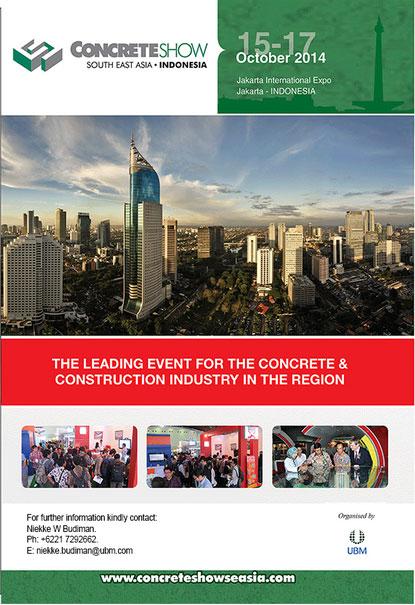 Concrete Show South East Asia 2014