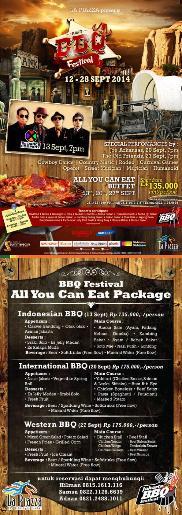 JAKARTA BBQ FESTIVAL 2014