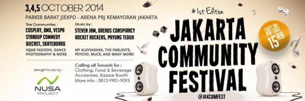 Jakarta Community Festival (JAKCOMFEST) 2014