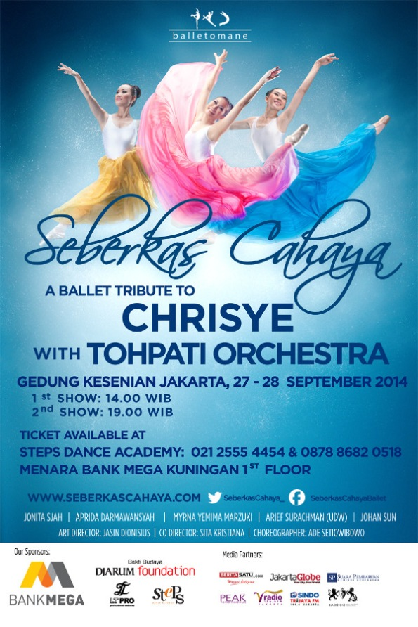 Seberkas Cahaya - A Ballet Tribute to Chrisye 2014