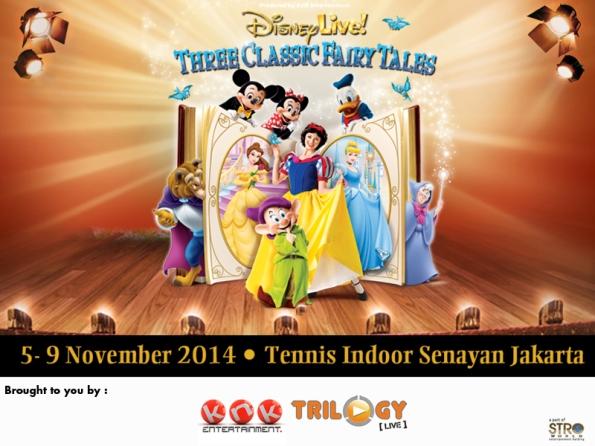 Disney Live! Three Classic Fairy Tales 2014
