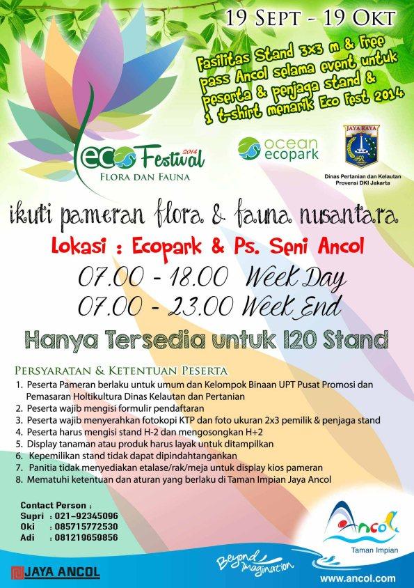 Eco Festival Flora dan Fauna 2014 – Ancol