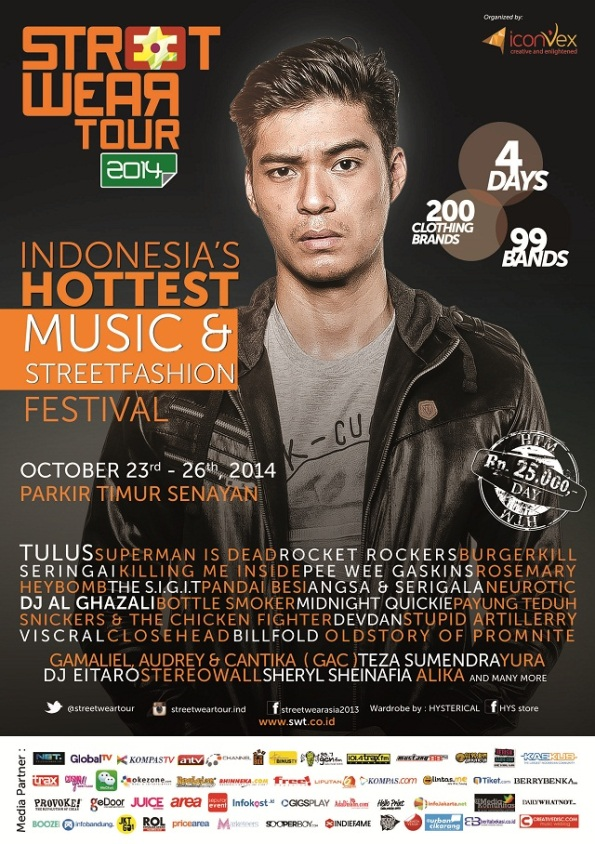 Indonesia Street Wear Tour 2014