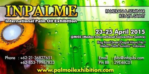 INPALME (International Palm Oil Exhibition) Agriculture Plantation 2015