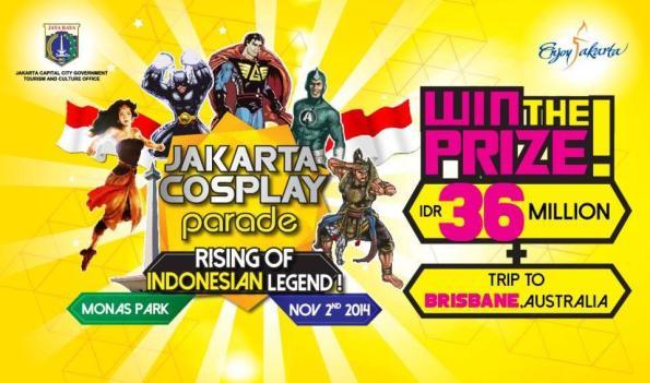 Jakarta Cosplay Parade 2014