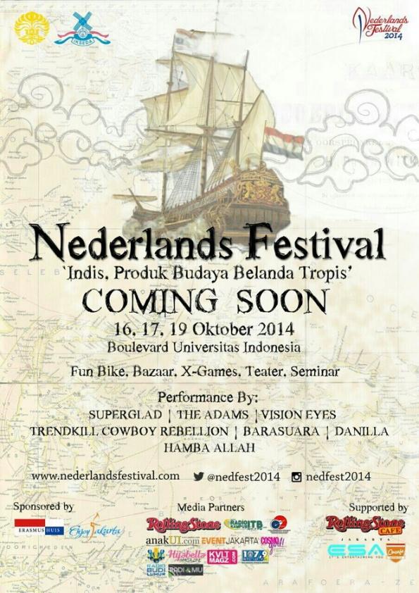 Nederlands Festival 2014 – Universitas Indonesia