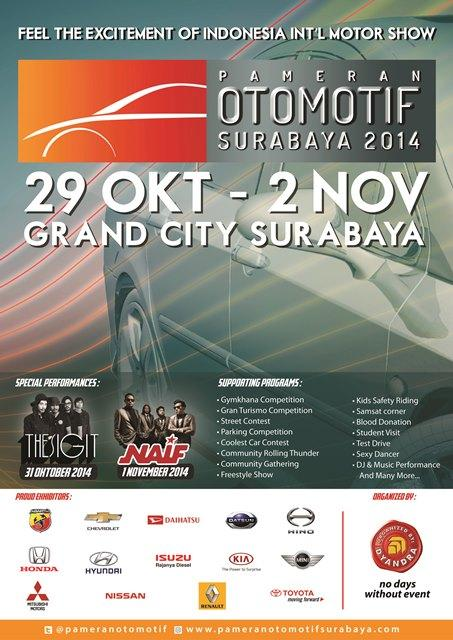 pameran otomotif surabaya 2014