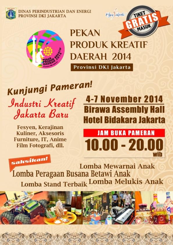 Pekan Produk Kreatif Daerah 2014